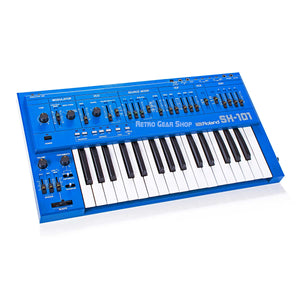 Roland SH-101 Blue Vintage Rare Analog Synthesizer
