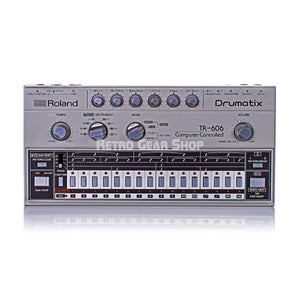 Roland TR-606 Drumatix Vintage Rare Analog Drum Machine