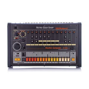 Roland TR-808 Vintage Analog Drum Machine Rare TR808 Serviced