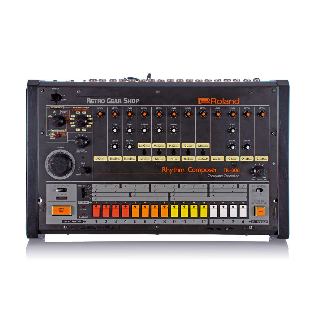 Roland TR-808 TR808 Rare Vintage Analog Drum Machine Synthesizer Serviced