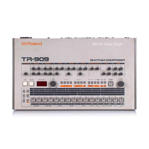 Roland TR-909 Rhythm Composer Rare Vintage Analog Drum Machine TR909