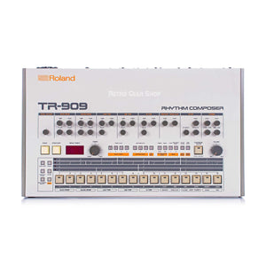 Roland TR-909 Rare Vintage Analog Drum Machine Rhythm Composer TR909