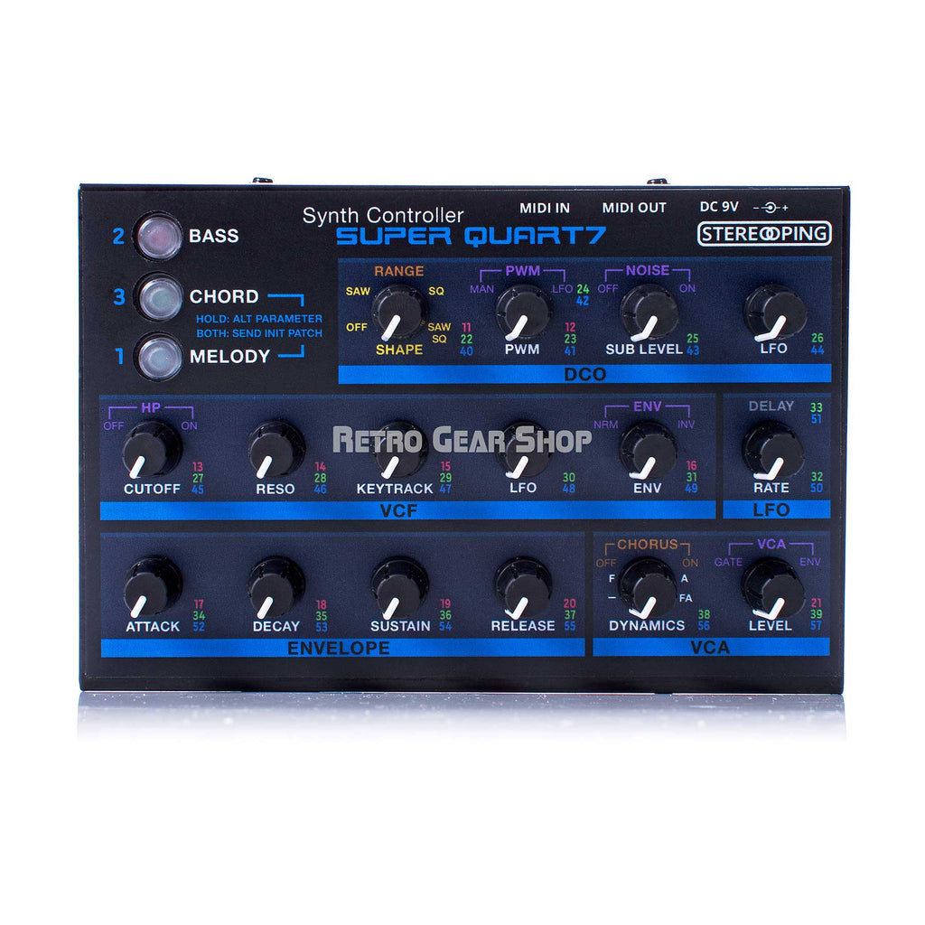 Stereoping CE-1 Super Quart7 Midi Controller for Roland MKS-7 Super Quartet