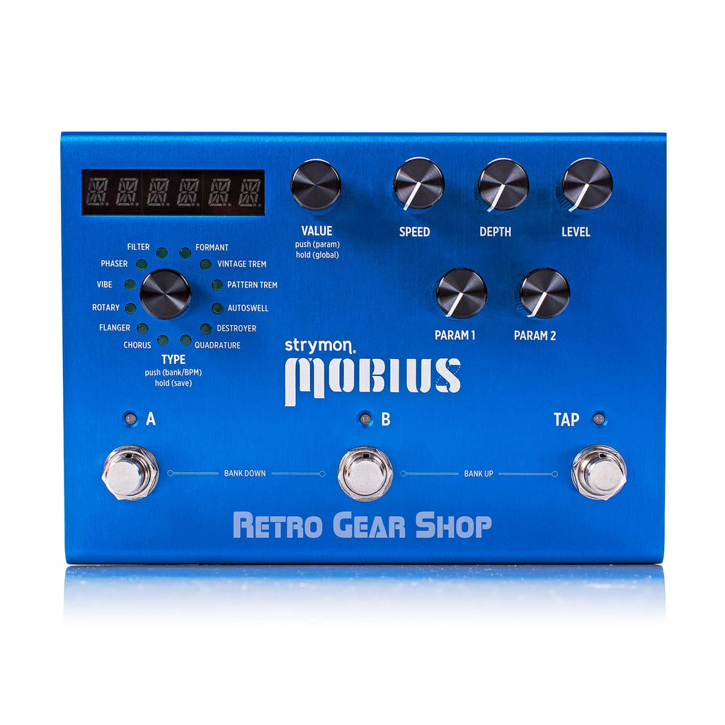 Strymon Mobius Multidimensional Modulation Guitar Effect Pedal