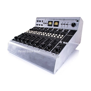 Tree Audio Roots Console Sidecar 8 Channel Hybrid Tube Mixer + 500 Series Custom Brushed Aluminum