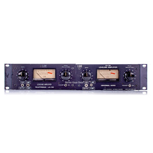 Urei LA-3A Pair LA3A Vintage Rare Compressor Teletronix Universal Audio Serviced owned by Puff Daddy from Daddy's House Recording Studio