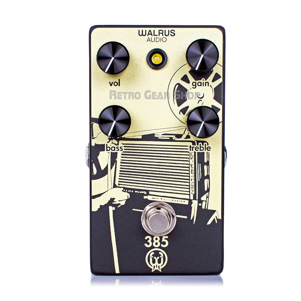 Walrus Audio 385 Overdrive Distortion Guitar Effect Pedal