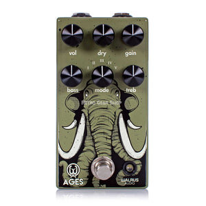 Walrus Audio Ages Five-State Overdrive Distortion Guitar Effect Pedal