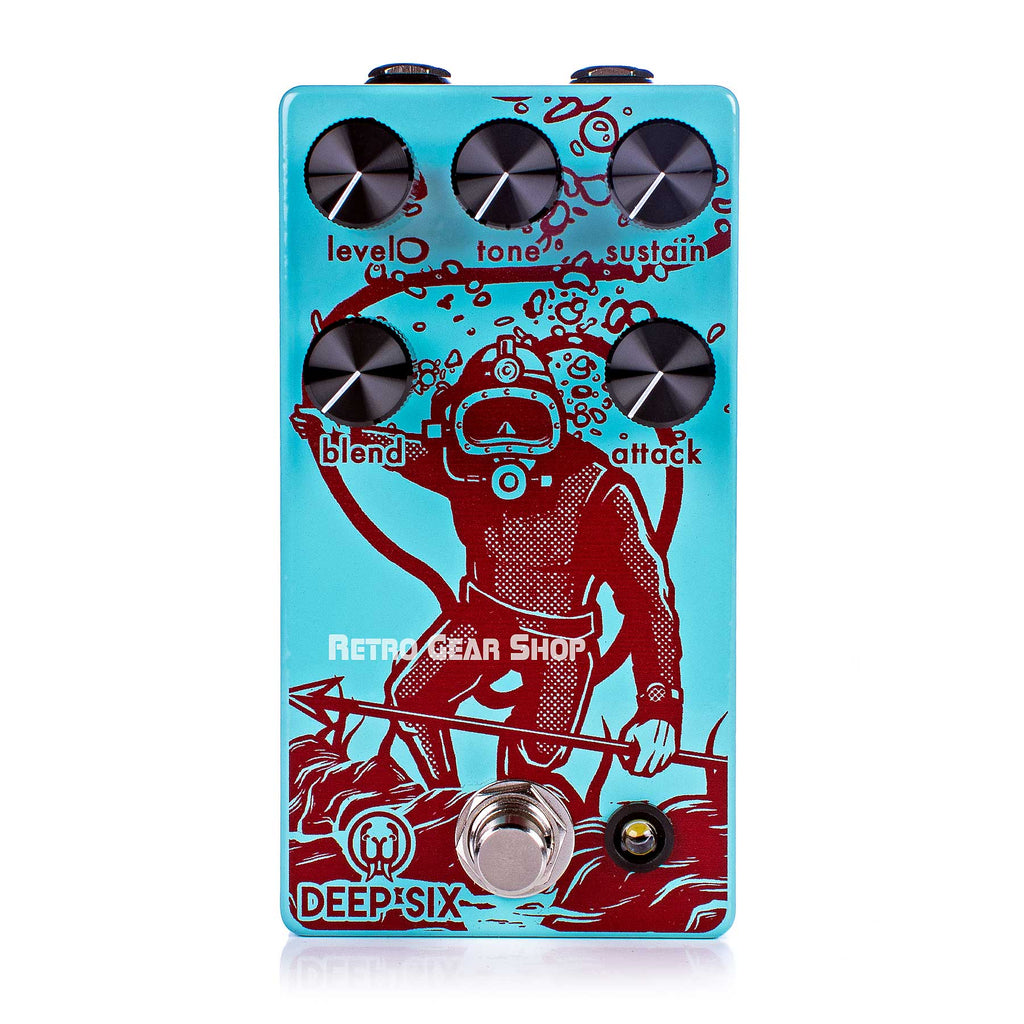 Walrus Audio Deep Six V3 Compressor Guitar Effect Pedal
