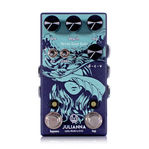 Walrus Audio Julianna Deluxe Stereo Analog Chorus/Vibrato Guitar Effect Pedal