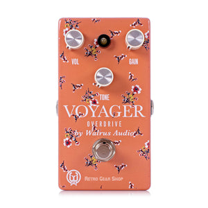 Walrus Audio Voyager Floral Series Overdrive Preamp Guitar Effect Pedal