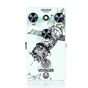 Walrus Audio Voyager Overdrive Preamp Guitar Effect Pedal