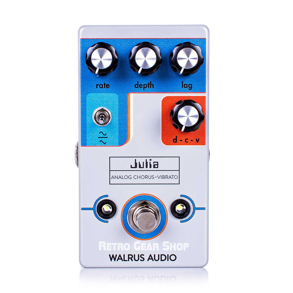 Walrus Audio Julia Chorus Vibrato Custom Retro Limited Edition Guitar Effect Pedal