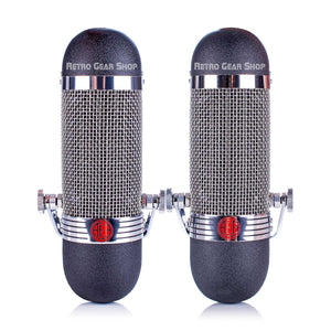 AEA R84 Ribbon Microphone Stereo Matched Pair Front