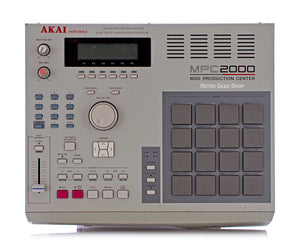 Akai MPC2000 Top