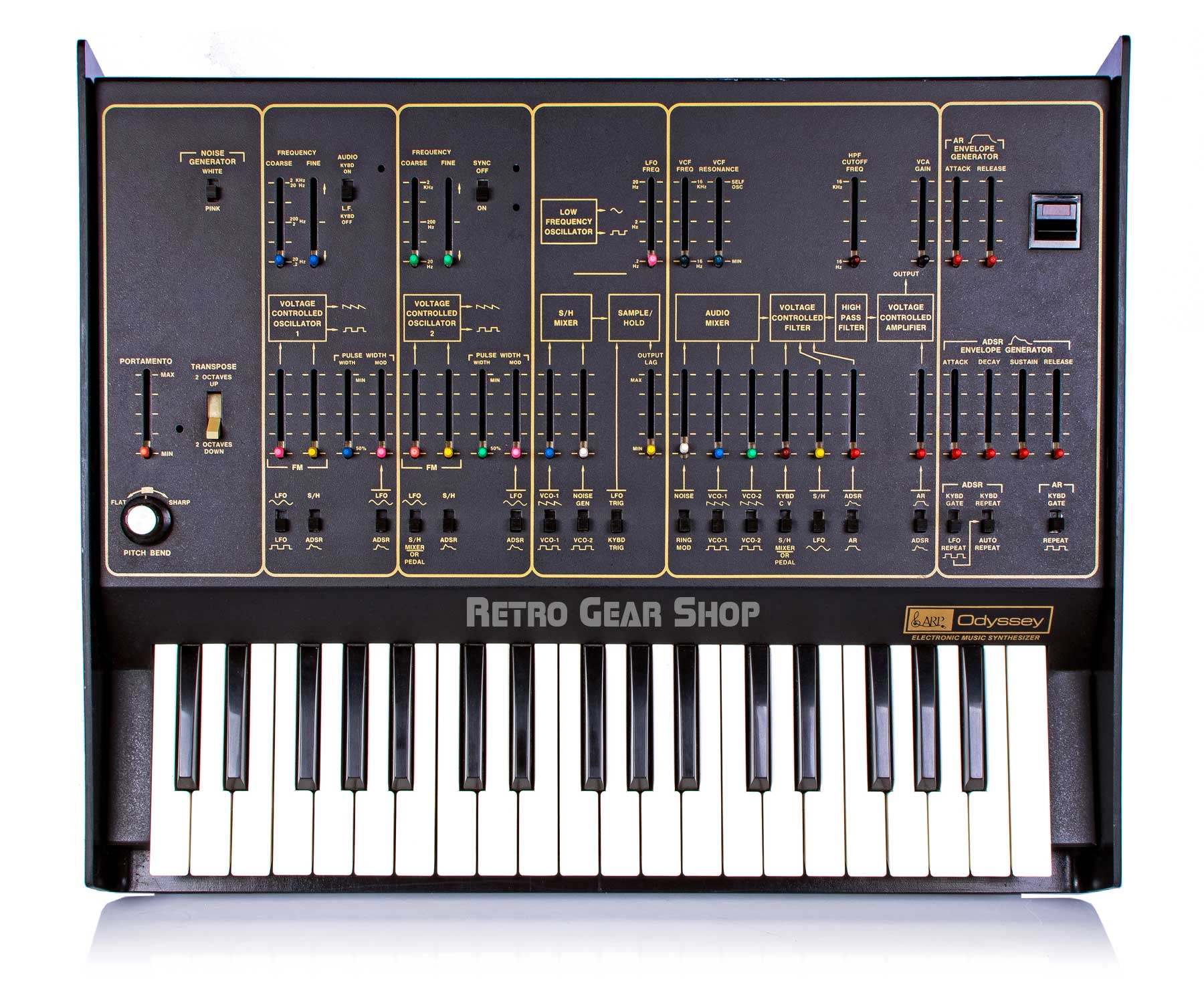 Arp Odyssey MkII Model 2813 Top