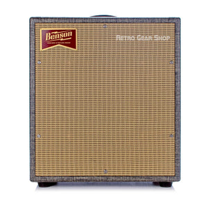 Benson Amps Monarch 1x12 Cab Night Moves Wheat Grill Front