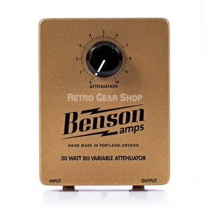 Benson Amps 30W Attentuator Top