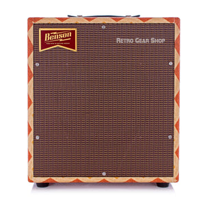 Benson Amps Monarch 1x12 Cab Old Mexico Oxblood Grill Front