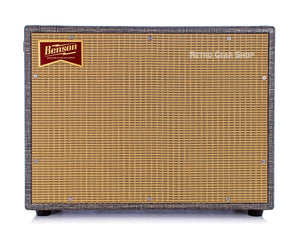 Benson Amps Monarch Reverb Combo 1x12 Night Moves Finish Wheat Grill Front