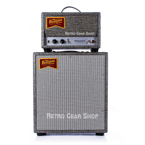 Benson Amps Monarch Head Guitar Amp & 1x12 Cabinet Night Moves Silver Grill