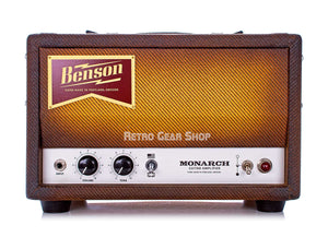 Benson Amps Monarch Head Front