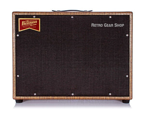 Benson Monarch Reverb Combo 1x12 Custom Rust Moves Front