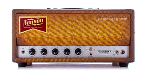 Benson Amps Vincent 30 Watt Amp Head Bourbon Burst Front