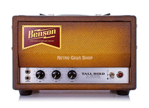 Benson Amps Tall Bird Bourbon Burst Front