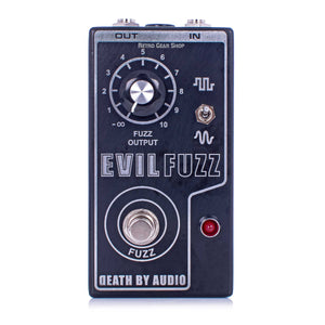 Death By Audio Evil Fuzz Limited Edition Front