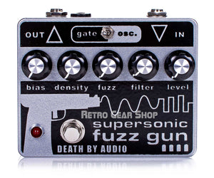 Death By Audio Supersonic Fuzz Gun Top