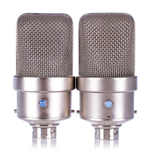 FLEA Microphones 50 Sequential Stereo Pair Front