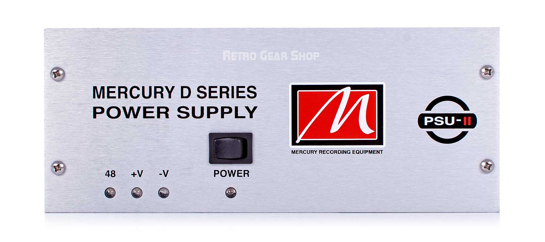 Mercury Recording Equipment 5.2A PSU-II Power Supply Front