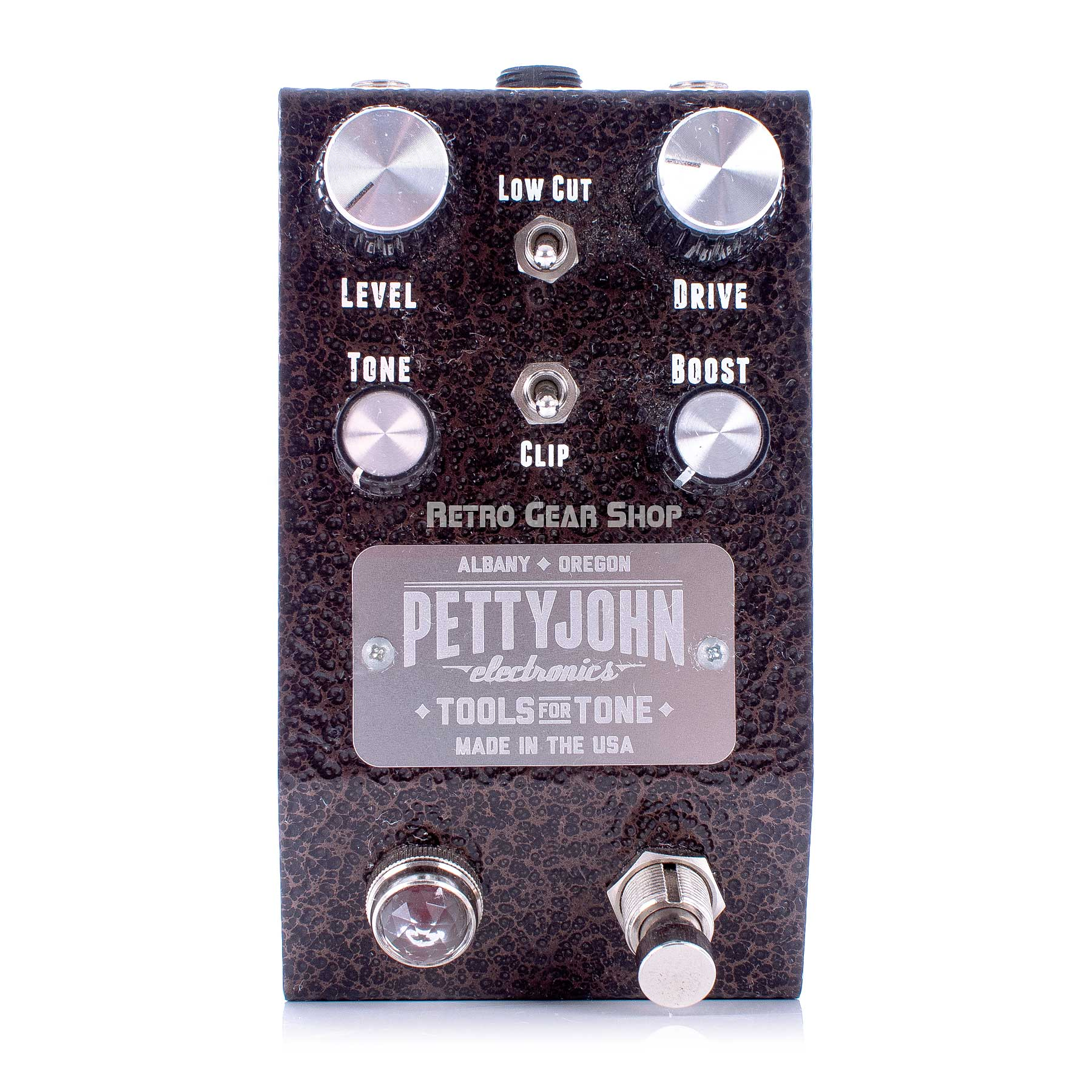 Pettyjohn Electronics Gold Drive Overdrive Top