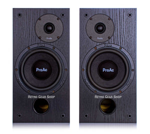 ProAc Studio SM 100 Passive Studio Monitors Pair Black Front