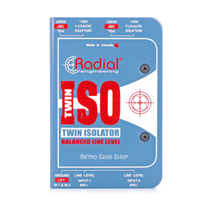 Radial Engineering Twin Iso Front