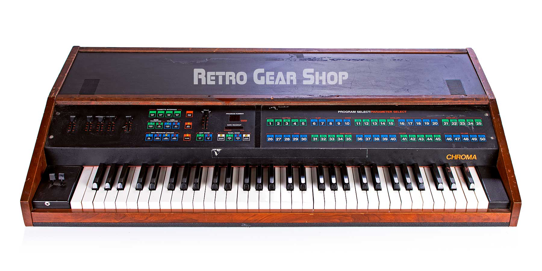 Arp Rhodes Chroma Keyboard Vintage Rare Analog Synthesizer Synth