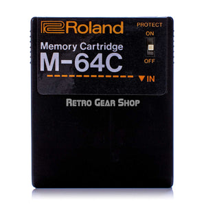Roland M-64C Memory Cartridge Front