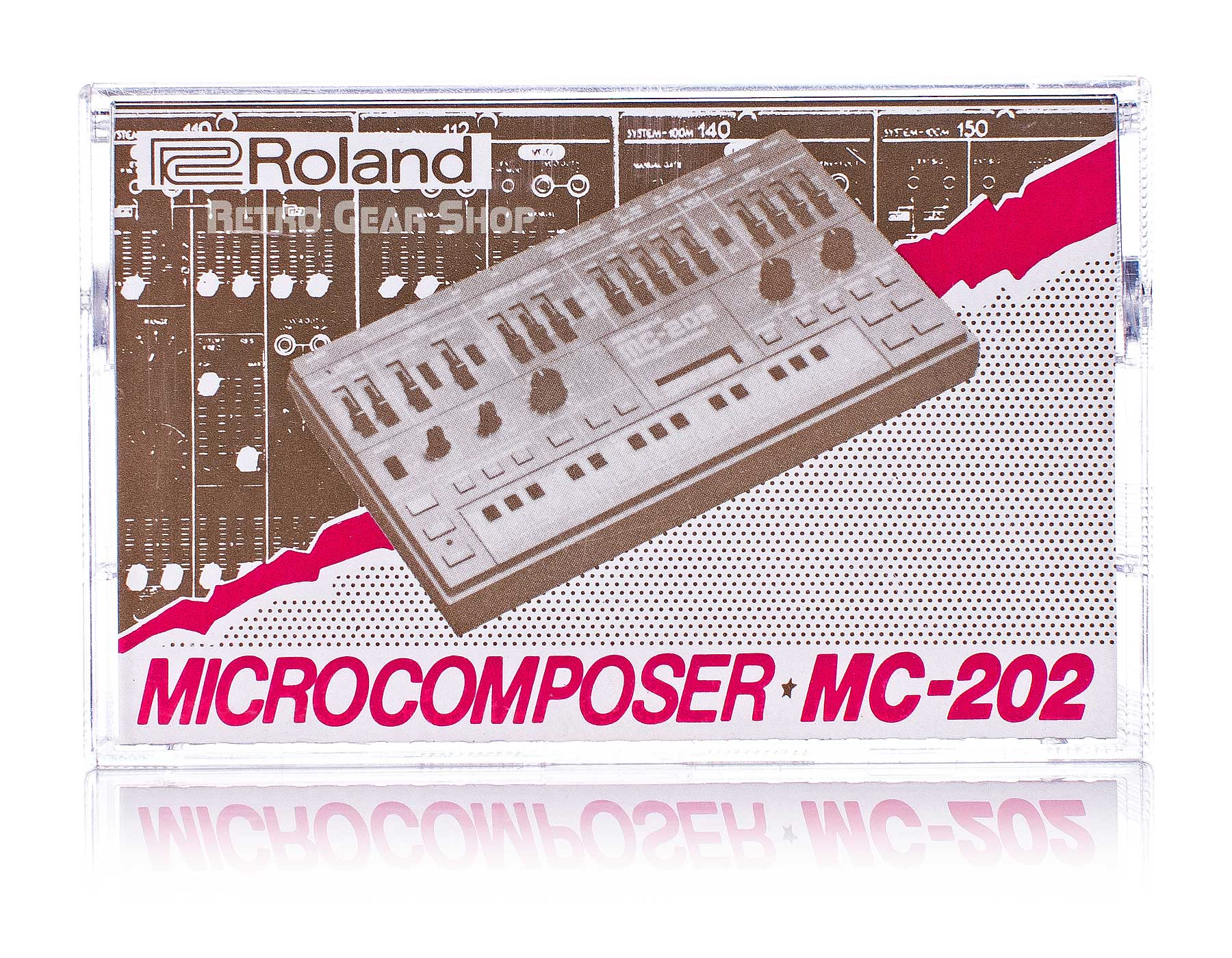 Roland MC-202 MicroComposer Original Cassette Tape Front