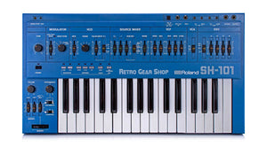 Roland SH-101 Blue + MG-1 Top