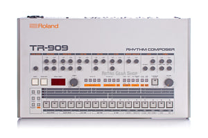 Roland TR-909 Rare Vintage Analog Drum Machine TR909 Mint Top