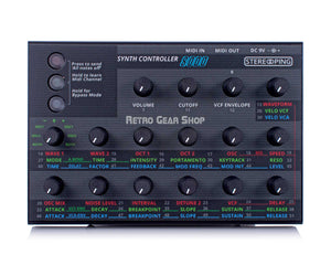 Stereoping CE-1 8000 Midi Controller Top