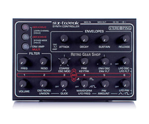 Stereoping CE-1 Six Tweak Midi Controller for SCI Six Trak Top