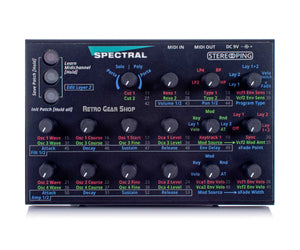 Stereoping CE1 Midi Synthesizer Controller Spectral Top