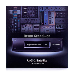 Universal Audio UAD-2 Satellite Thunderbolt Octo DSP Accelerator Front