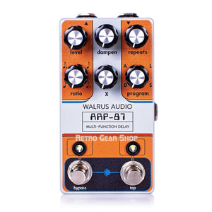 Walrus Audio ARP-87 Delay Custom Retro Limited Edition Top