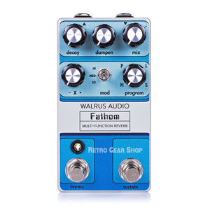 Walrus Audio Fathom Reverb Custom Retro Limited Edition Top