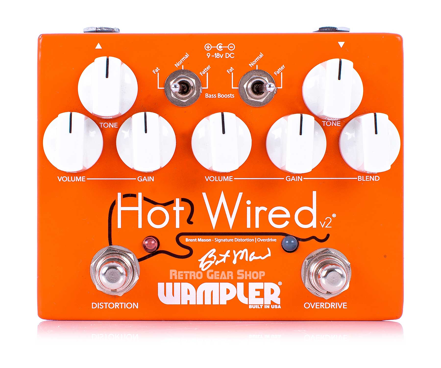 Wampler Hot Wired V2 Top