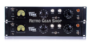 Weight Tank Vari Mu Tube Compressor Stereo Matched Sequential Pair Front