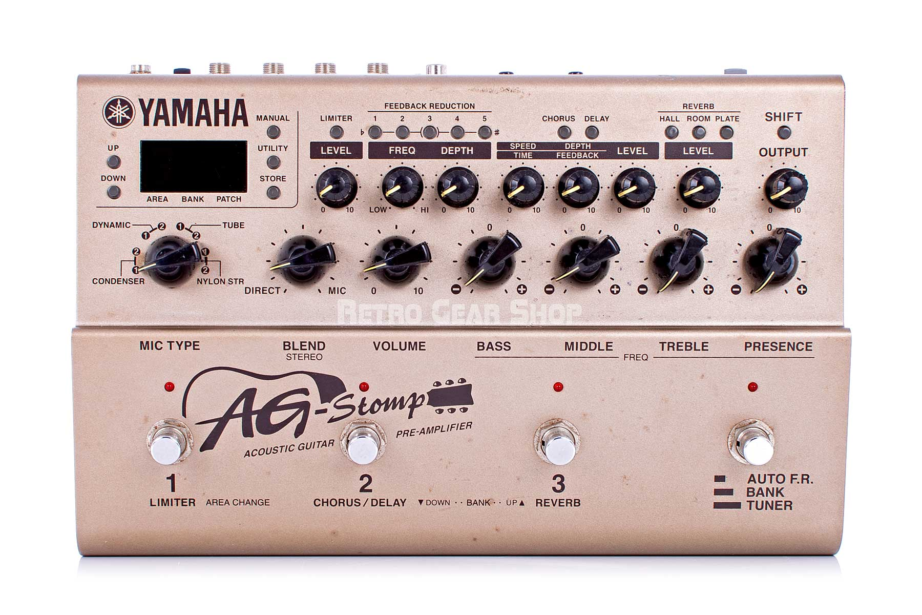 Yamaha AG Stomp Top